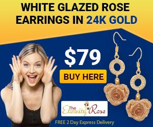 white-earrings